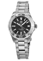 Tag Heuer Aquaracer Lady 300M 32MM Black Dial Stainless Steel Women's Watch WBD1310.BA0740