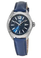 Tag Heuer Formula 1 Quartz Blue Dial Leather Strap Women's Watch WBJ1412.FC8233