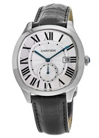 Cartier Drive De Cartier  Chrono Second Hand Steel Men's Watch WSNM0004