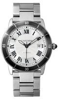 Cartier Ronde Croisiere De Cartier  Silver Dial Stainless Steel Men's Watch WSRN0010