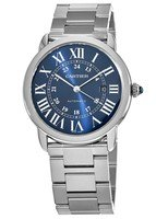 Cartier Ronde Solo Automatic Blue Dial Stainless Steel Men's Watch WSRN0023