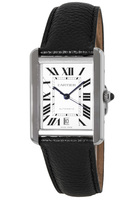 Cartier Tank Solo XL Automatic Leather Strap Men's Watch WSTA0029