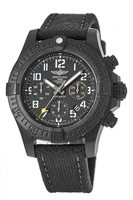 Breitling Avenger Hurricane 45 Breitlight Black Chronograph Men's Watch XB0180E4/BF31-109W