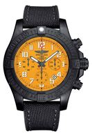 Breitling Avenger Hurricane 45 Cobra Yellow Dial Men's Watch XB0180E4/I534-109W