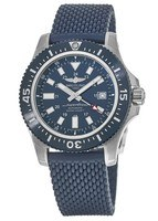 Breitling Superocean 44 Special Mariner Blue Dial Blue Rubber Men's Watch Y1739316/C959-281S