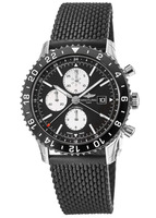 Breitling Chronoliner  Ceramic Pilots Chronograph GMT Rubber Strap Men's Watch Y2431012/BE10-256S