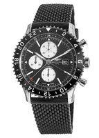 Breitling Chronoliner  Black Dial Black Rubber Men's Watch Y2431012/BE10-267S