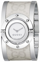 Gucci Twirl  Bangle Bracelet Mother of Pearl Dial Women's Watch YA112419