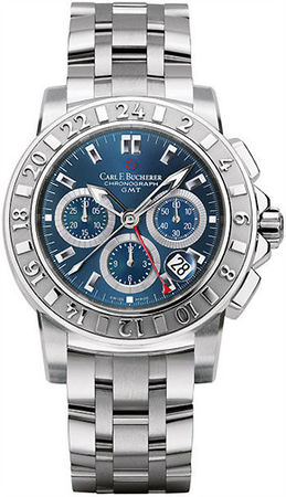 Carl F. Bucherer Patravi TravelGraph  Men's Watch 00.10618.08.53.21