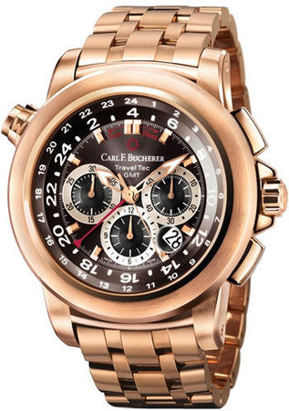 Carl F. Bucherer Patravi TravelTec GMT  Men's Watch 00.10620.03.33.21