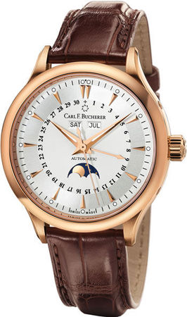 Carl F. Bucherer Manero Moonphase  Men's Watch 00.10909.03.13.01