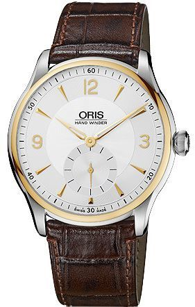 Oris Artelier Hand Winding  Men's Watch 01 396 7580 4351-07 5 21 05