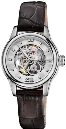 Oris Artelier Skeleton  Women's Watch 01 560 7687 4019-07 5 14 60FC
