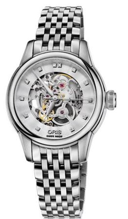 Oris Artelier Skeleton  Women's Watch 01 560 7687 4019-07 8 14 77
