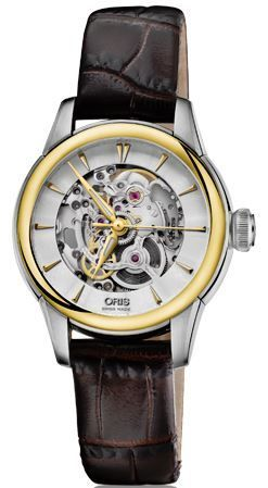 Oris Artelier Skeleton  Women's Watch 01 560 7687 4351-07 5 14 70FC