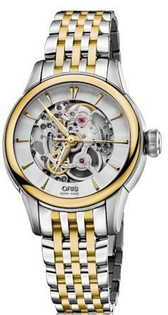 Oris Artelier Skeleton  Women's Watch 01 560 7687 4351-07 8 14 78