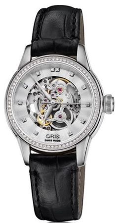 Oris Artelier Skeleton  Women's Watch 01 560 7687 4919-07 5 14 60FC