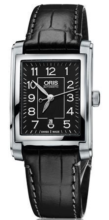 Oris Rectangular Date  Women's Watch 01 561 7656 4034-07 5 17 71FC