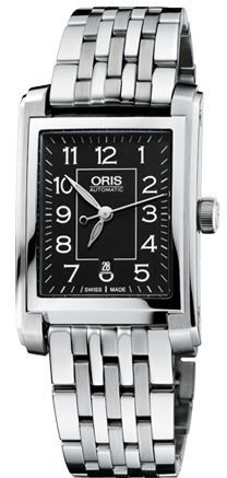 Oris Rectangular Date  Women's Watch 01 561 7656 4034-07 8 17 82