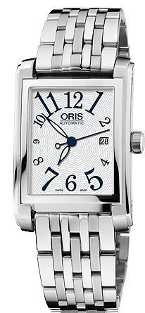 Oris Rectangular Date  Women's Watch 01 561 7656 4061-07 8 17 82