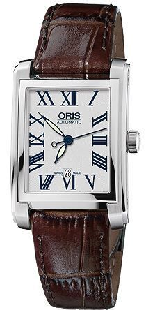 Oris Rectangular Date  Women's Watch 01 561 7656 4071-07 5 17 70FC