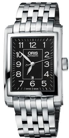 Oris Rectangular Date  Women's Watch 01 561 7657 4034-07 8 21 82