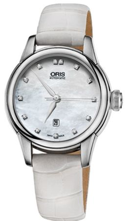 Oris Artelier Date Diamonds  Women's Watch 01 561 7687 4091-07 5 14 67FC