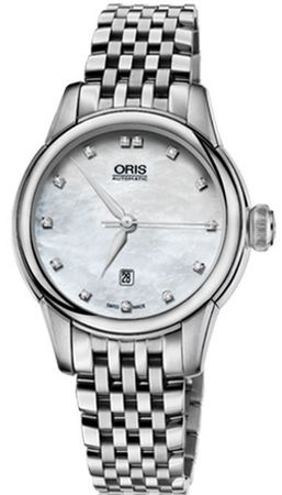 Oris Artelier Date Diamonds  Women's Watch 01 561 7687 4091-07 8 14 77
