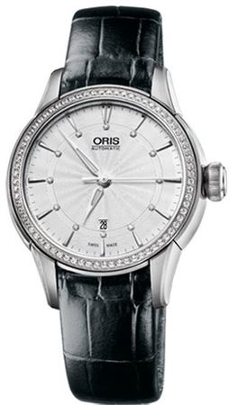 Oris Artelier Date Diamonds  Women's Watch 01 561 7687 4951-07 5 14 60FC