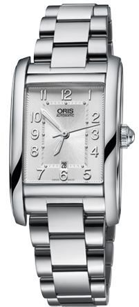 Oris Rectangular Date  Women's Watch 01 561 7692 4061-07 8 18 20