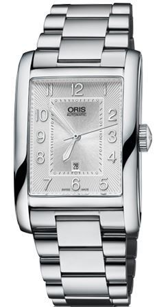 Oris Rectangular Date  Women's Watch 01 561 7693 4061-07 8 22 20