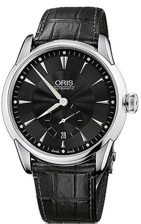 Oris Artelier Small Second Date Men's Watch 01 623 7582 4074-07 5 21 71FC