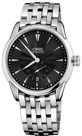 Oris Artelier Small Second Date Men's Watch 01 623 7582 4074-07 8 21 73