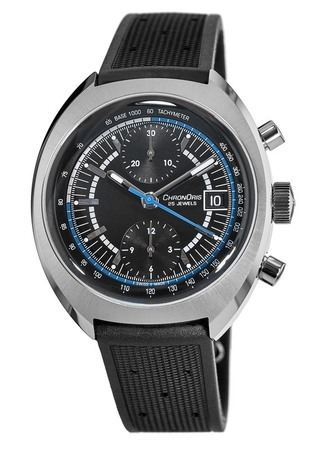 Oris Chronoris  Williams 40TH anniversary Limited Edition Rubber Strap Men's Watch 01 673 7739 4084-Set RS