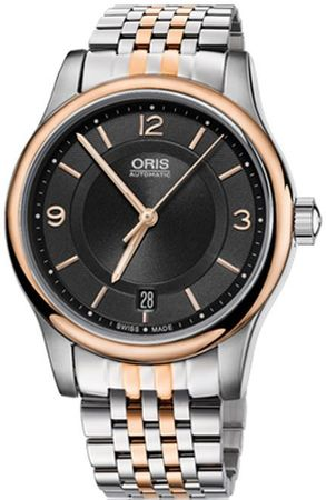 Oris Classic Date  Men's Watch 01 733 7578 4334-07 8 18 63