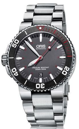 Oris Aquis   Men's Watch 01 733 7653 4183-Set MB