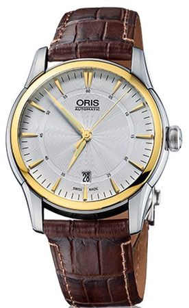 Oris Artelier Date  Men's Watch 01 733 7670 4351-07 1 21 73FC