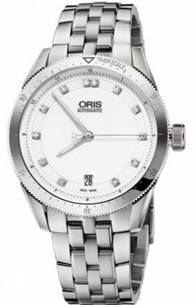 Oris Artix Gt Date Diamonds Women's Watch 01 733 7671 4191-07 8 18 85