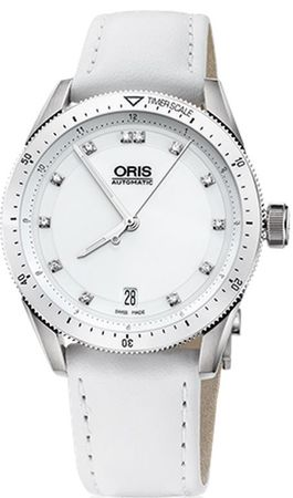 Oris Artix GT Date Diamonds Women's Watch 01 733 7671 4196-07 5 18 40FC