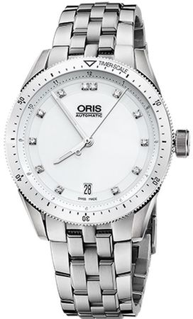 Oris Artix GT Date Diamonds Women's Watch 01 733 7671 4196-07 8 18 85