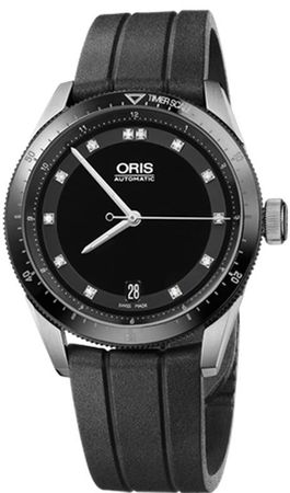 Oris Artix GT Date Diamonds Women's Watch 01 733 7671 4494-07 4 18 20FC