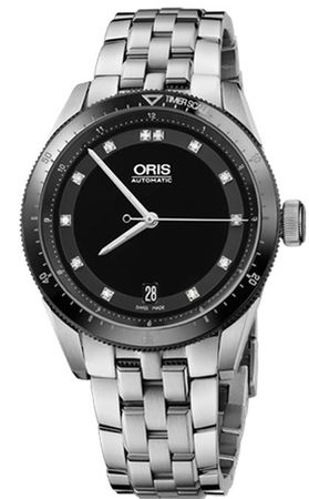 Oris Artix GT Date Diamonds Women's Watch 01 733 7671 4494-07 8 18 85