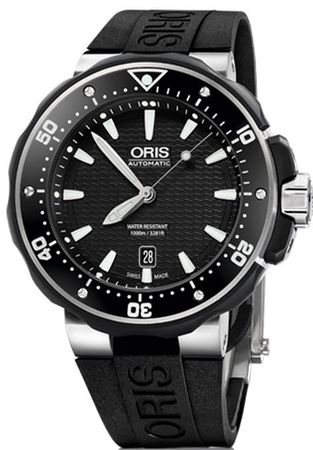 Oris ProDiver Date  Men's Watch 01 733 7682 7154-07 4 26 34TEB