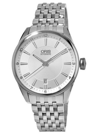 Oris Artix Date Silver Dial Stainless Steel Men's Watch 01 733 7713 4031-07 8 19 80