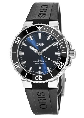 Oris Aquis Date Blue Dial Men's Watch 01 733 7730 4135-07 4 24 64EB