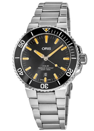 Oris Aquis Date Black Dial Stainless Steel Men's Watch 01 733 7730 4159-07 8 24 05PEB