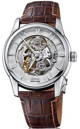 Oris Artelier Skeleton  Men's Watch 01 734 7670 4051-07 5 21 70FC