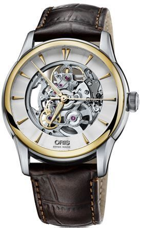 Oris Artelier Skeleton  Men's Watch 01 734 7670 4351-07 5 21 70FC