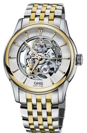 Oris Artelier Skeleton  Men's Watch 01 734 7670 4351-07 8 21 78