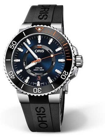 Oris Aquis  Staghorn Restoration Limited Edition Men's Watch 01 735 7734 4185-Set RS